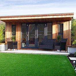 Real wood conservatory orangery garden room gallery for Garden summer house designs