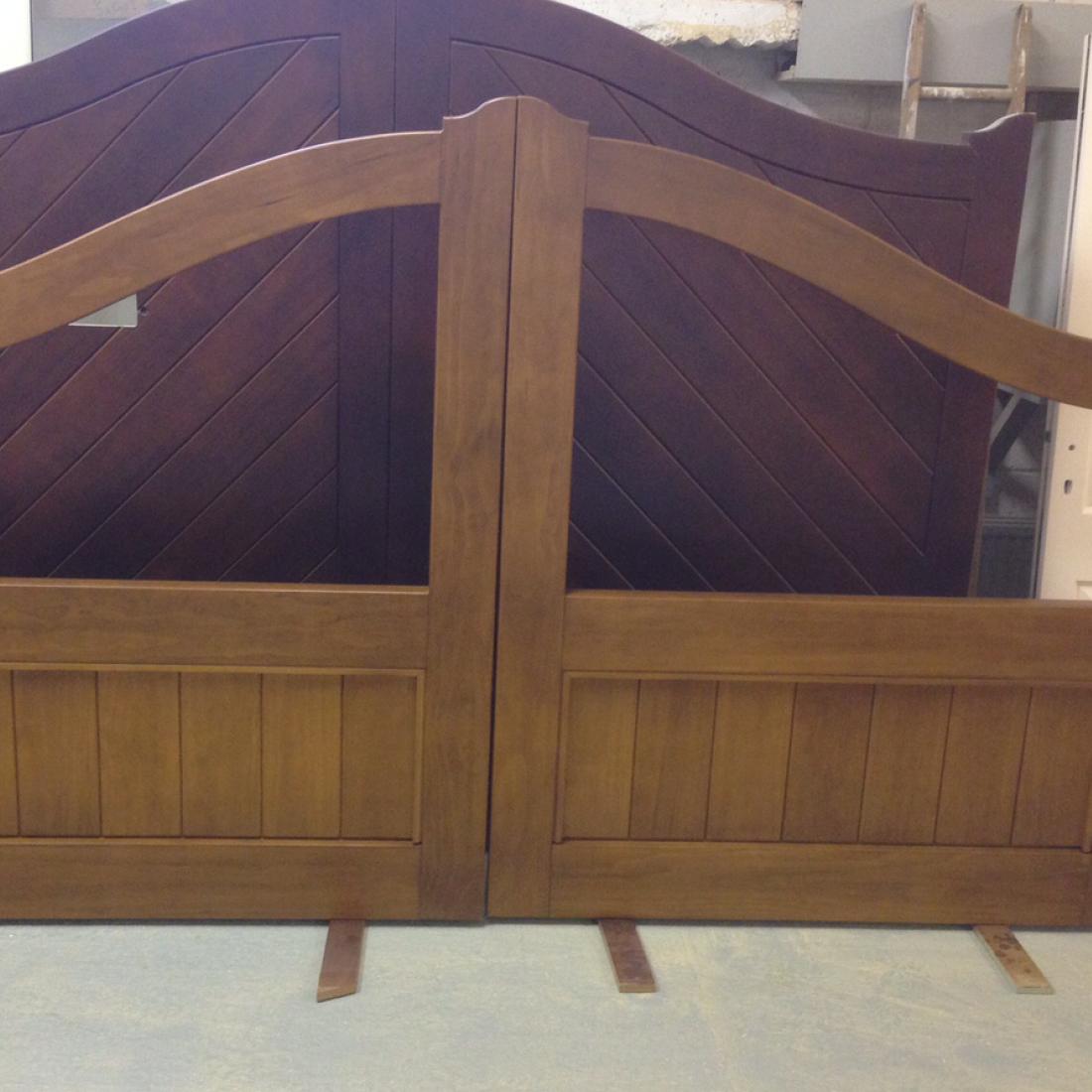 real wood mouldings and timber gates. Black Bedroom Furniture Sets. Home Design Ideas