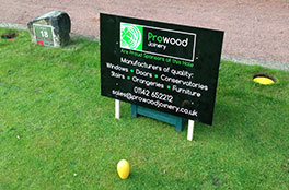 Prowood golf course